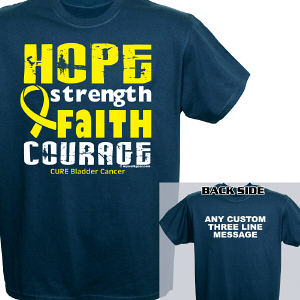Cure Bladder Cancer Awareness T-Shirt