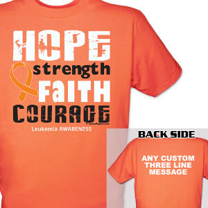 Leukemia Awareness T-Shirt