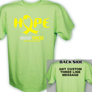 Hope Bladder Cancer Awareness T-Shirt