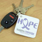 Hope Hodgkins Lymphoma Cancer Awareness Key Chain