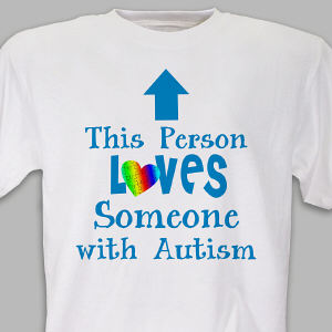 Loves Someone With Autism T-Shirt