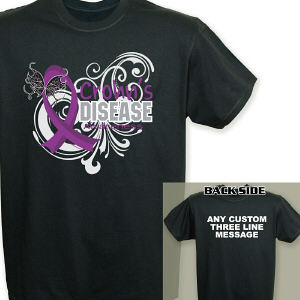 Crohn's Disease Awareness T-Shirt