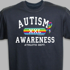 Autism Awareness Athletic Dept. XXL T-Shirt