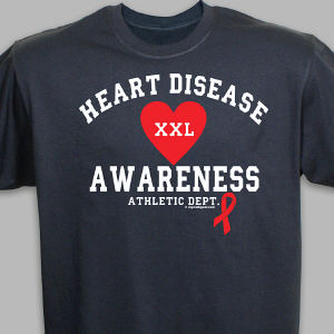 Heart Disease Athletic Dept. T-Shirt