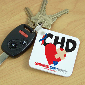 CHD Awareness Key Chain
