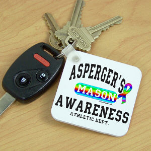 Asperger's Awareness Athletic Dept. Key Chain