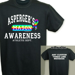 Asperger's Awareness Athletic Dept. T-Shirt