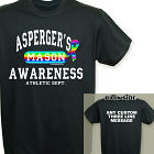Asperger's Awareness Athletic Dept. T-Shirt 35529X