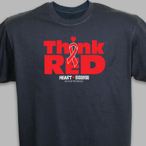 Think Red Awareness T-Shirt