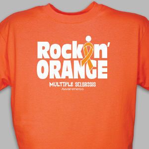 Rockin' Orange MS Awareness T-Shirt