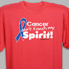 Blue Hope Ribbon Awareness T-Shirt 35589X