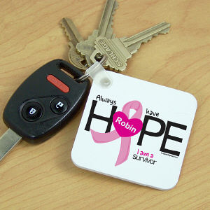 Breast Cancer Survivor Key Chain