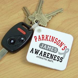 Parkinson's Awareness Athletic Dept. Key Chain