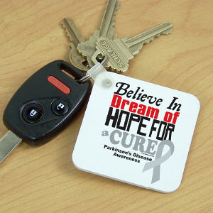 Cure Parkinson's Disease Key Chain
