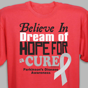 Cure Parkinson's Disease Awareness T-Shirt