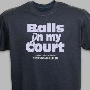 Testicular Cancer Awareness T-Shirt