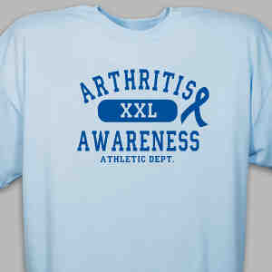 Arthritis Awareness Athletic Dept. T-Shirt