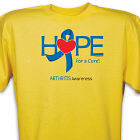 Hope For A Cure Arthritis Awareness T-Shirt 35833X