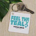 Ovarian Cancer Awareness Key Chain 359920