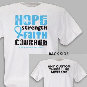 Prostate Cancer Awareness T Shirt Mywalkgear Com