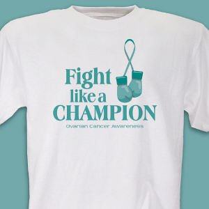 Ovarian Cancer Champion T-Shirt