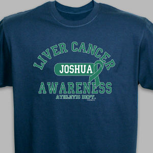 Liver Cancer Awareness Athletic Dept. T-Shirt