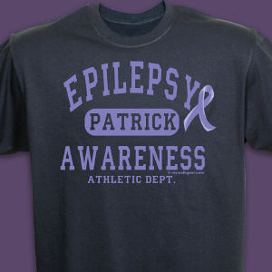 Epilepsy Awareness Athletic Dept. T-Shirt