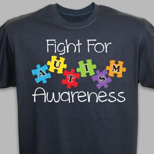 Fight for Autism Awareness T-Shirt