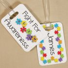 Fight For Autism Awareness Luggage Tag 4174534