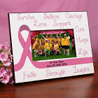 Breast Cancer Awareness Ribbon Printed Frame 461620