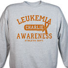 Leukemia Awareness Athletic Dept. Sweatshirt