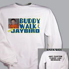 Personalized Buddy Walk Down Syndrome Photo Sweatshirt