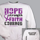Cure Alzhiemers Awareness Sweatshirt 54242X