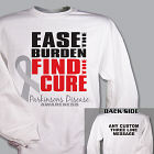 Find the Cure Parkinson's Disease Awareness Sweatshirt 54246X