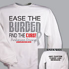 Ease the Burden Parkinson's Disease Awareness Sweatshirt