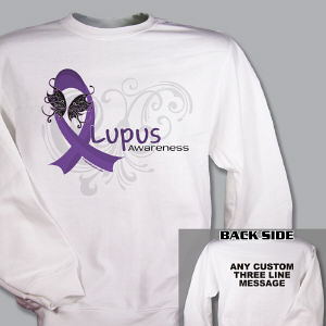 Lupus Awareness Sweatshirt