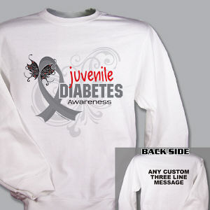 Juvenile Diabetes Awareness Sweatshirt