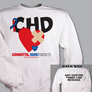 CHD Awareness Sweatshirt