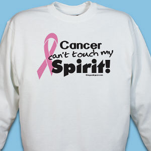 Pink Hope Ribbon Spirit Sweatshirt