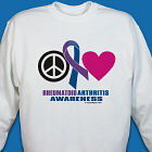 Rheumatoid Arthritis Awareness Sweatshirt