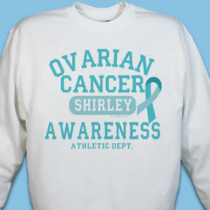 Ovarian Cancer Awareness Athletic Dept. Sweatshirt