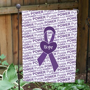 Awareness Ribbon Garden Flag