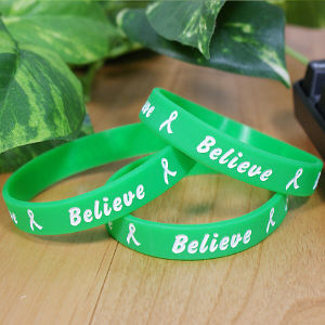 Green Believe Awareness Bracelet