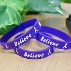 Purple Believe Awareness Bracelet 62013PR