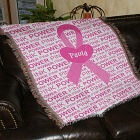 Breast Cancer Awareness Tapestry Throw Blanket 83041085