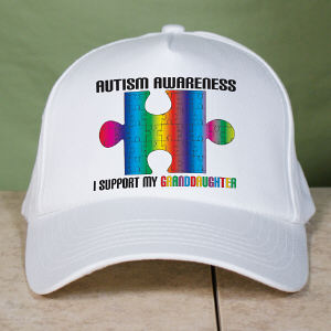 Personalized Autism Support Hat