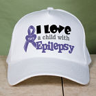 Personalized I Love A Child With Epilepsy Hat 841746