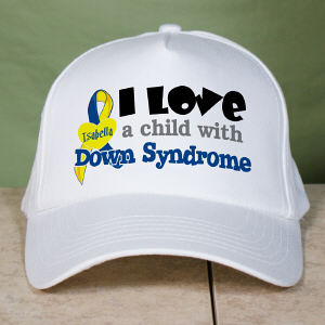 Personalized I Love Someone With Down Syndrome Hat
