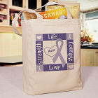 Personalized Epilepsy Awareness Canvas Tote Bag