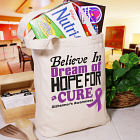 Believe In A Cure Alzheimber's Awareness Tote Bag 842392